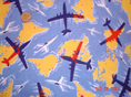 Planes Over Americas Fabric
